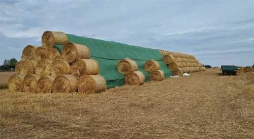 Fliz 140g/m2 agrowłóknina, włóknina plandeka ochrona bel siana, słomy