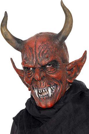 Máscara de Diabo para Halloween / Noite das Bruxas e Carnaval.