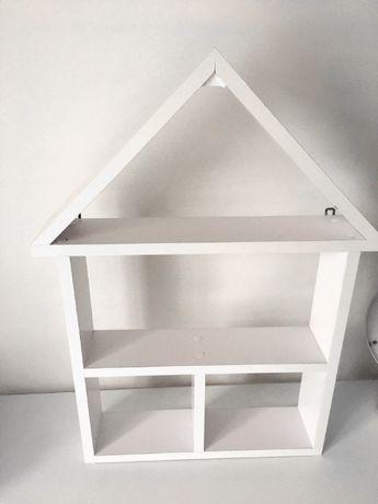 Drewniany Domek Półka (Dziecko Kuchnia)