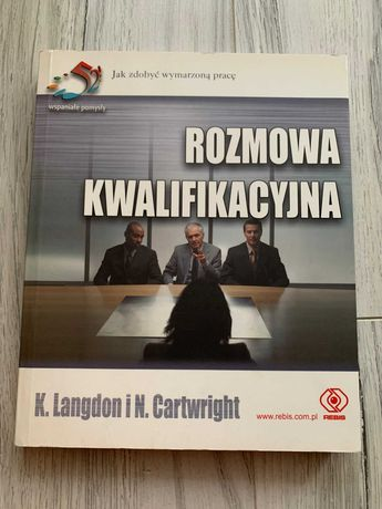Rozmowa kwalifikacyjna książka poradnik Langdon Cartwright