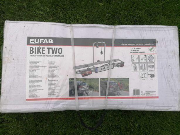 Bagażnik rowerowy eufab na hak bike two na 2 rowery