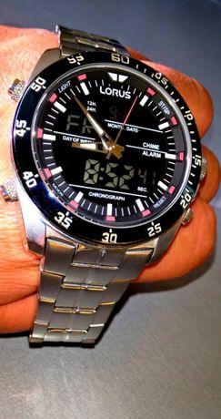 LORUS RW623AX9 podświetlany indygo