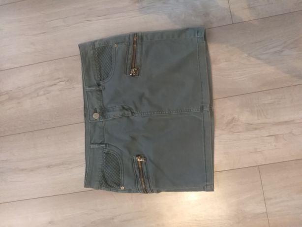Spódnica khaki Reserved r 38