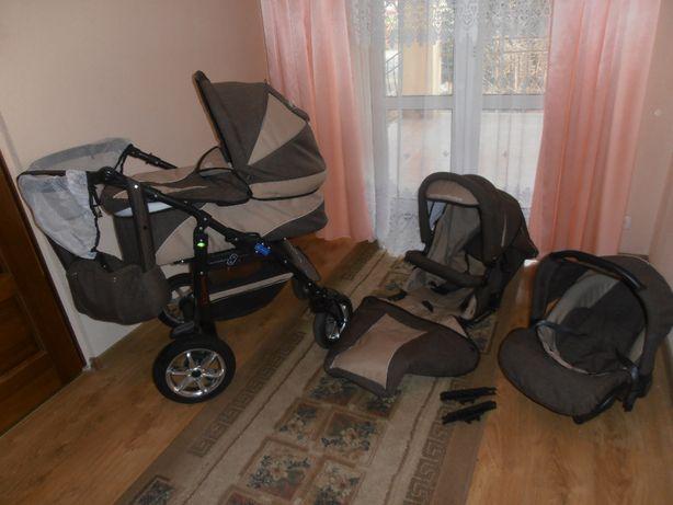 Wózek Dzieciecy 3 W 1 BABY MERC