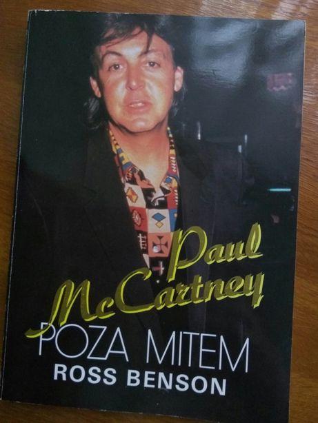 Paul McCartney poza mitem biografia The Beatles Ross Benson 1992