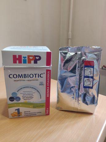 Детская сухая смесь Hipp combiotic 1