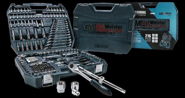 Набор инструментов Gut Meister 216 Новая премиум линейка от Mannesmann