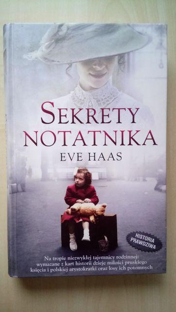 """Sekrety notatnika"" Eve Haas"
