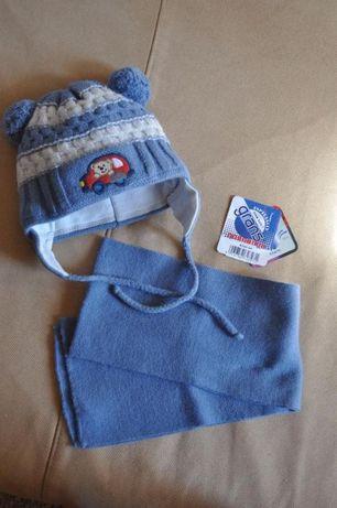 Шапка зимняя + шарфик Grans