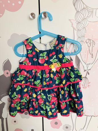 Sukienka Sisimini 24m-ce 80  cm - 86 cm
