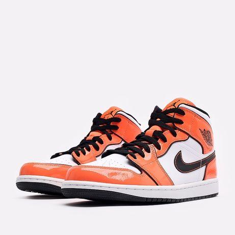 Кроссовки Jordan 1 Mid SE Turf Orange - DD6834-802 (Оригинал)