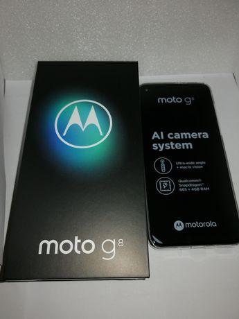 Smartfon Motorola Moto G8, nowy, nieużywany. Gwarancja