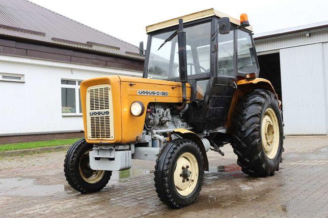 Ogłoszenie o aukcji na sprzedaż ciągnika rolniczego URSUS C-360 3P
