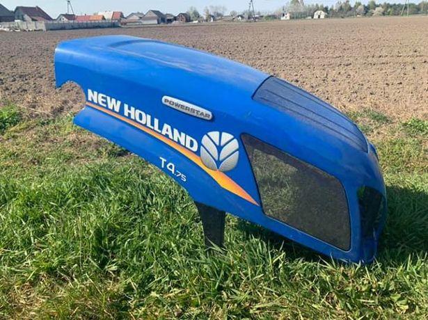 Maska pokrywa klapa przod ciagnik traktor new holland t4. 75 oslona