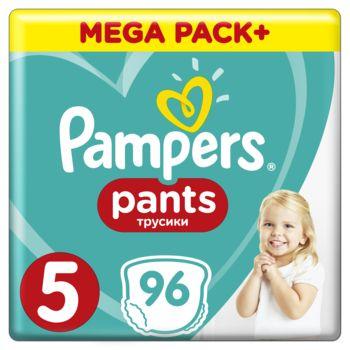 Набор подгузников-трусиков Pampers Pants 5 (12-17 кг), 192 шт. (2 уп.