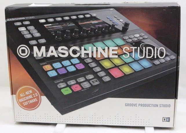 Como N O V O ! ! » Native Instruments Maschine Studio