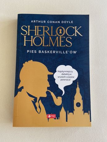 """Sherlock Holmes Pies Baskervill'ów"" Arthur Conan Doyle"