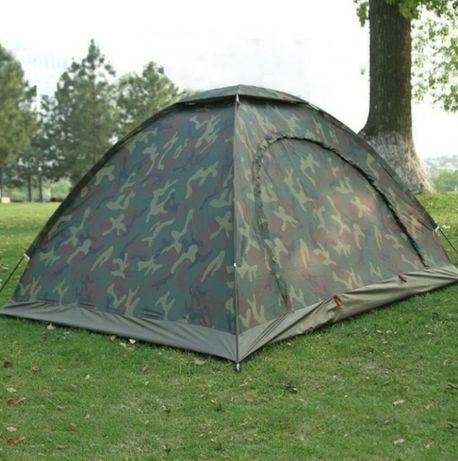 Палатка туристична армійська чотиримісна кольору хакі 2х2,5м
