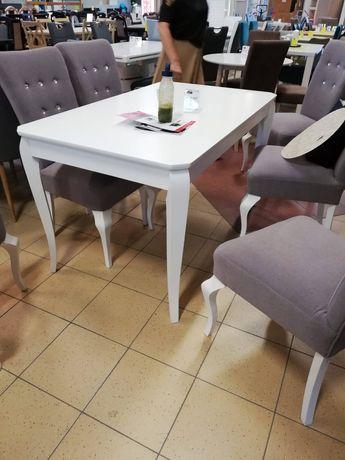 Stół biały, rozkładany