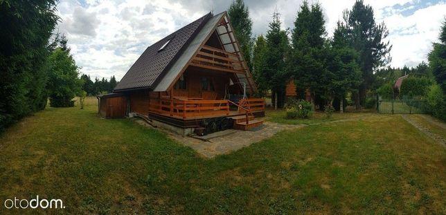 Domek drewniany całoroczny w okolicy Rabki-Zdrój