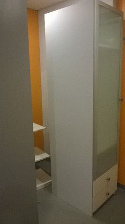 Szafa IKEA Pax-HEMNES drewno-kredens Leksvik -HEMNES-komoda-regał