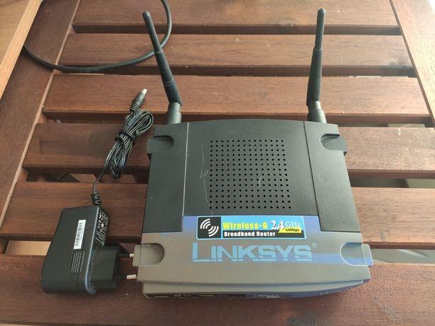 Vende-se Router Linksys WRT54GL
