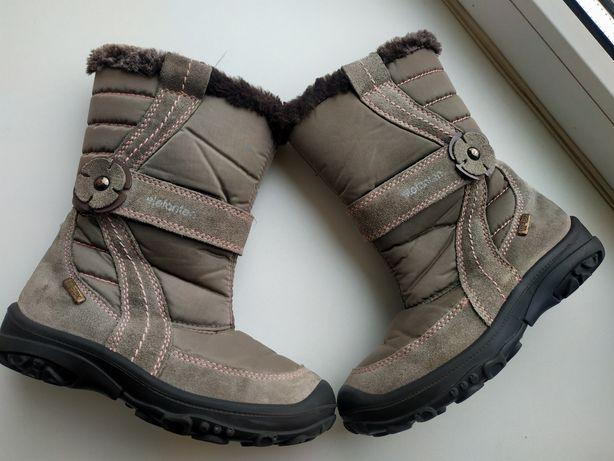 Зимние сапоги Elefant 27р.( Зимові чоботи для дівчинки)