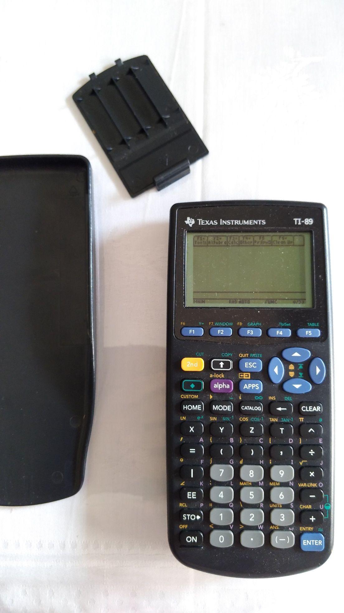 Calculadora gráfica Texas Instruments TI-89 com manual instruções