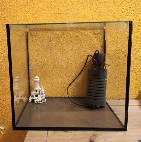 Akwarium 45L filtr powietrza