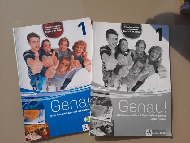 Genau! 1 język niemiecki podręcznik z ćwiczeniami