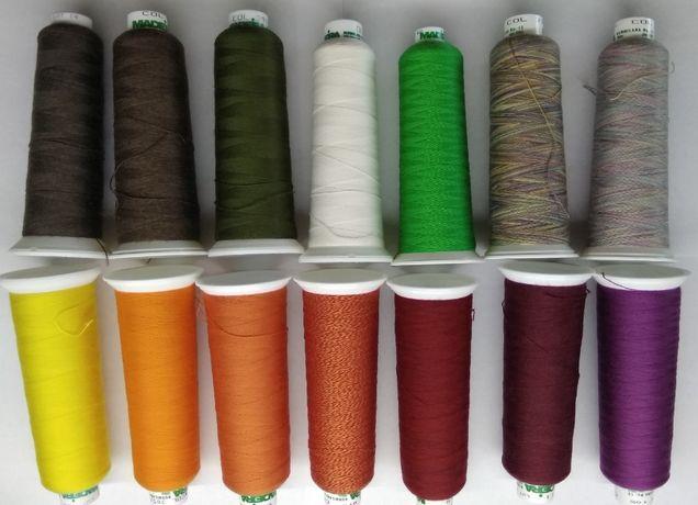 Вязально-вышивальные нитки Мадейра Германия