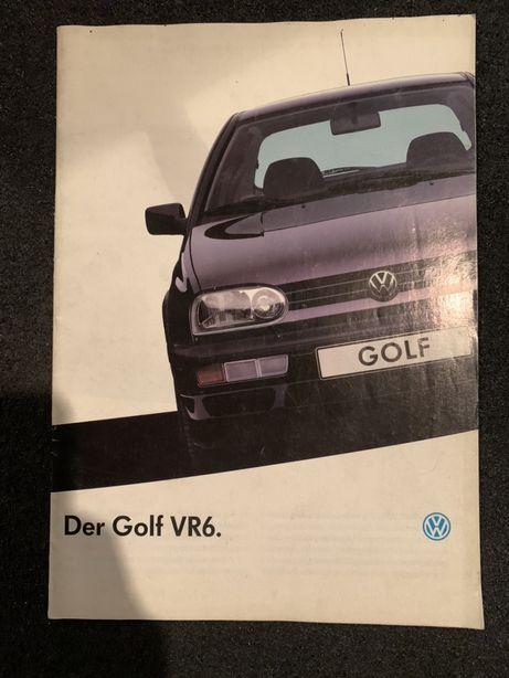 Prospekt Volkswagen Golf III VR6