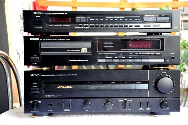 Wieża DENON Odtwarzacz CD DCD-420 Wzmacniacz PMA-520A Tuner FM TU-450