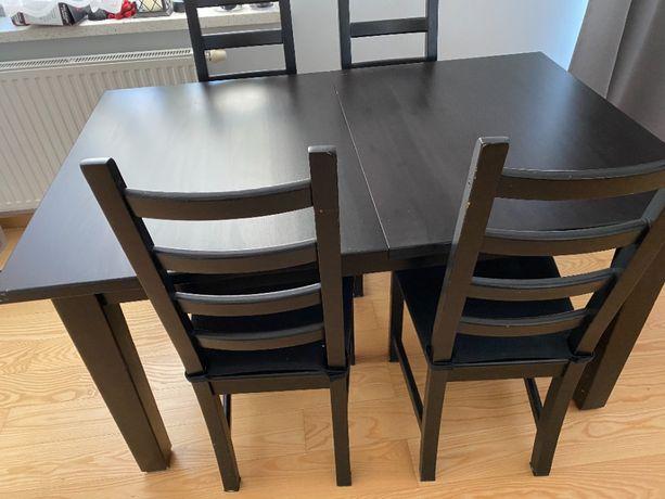 stół i 4 krzesła IKEA STORNAS