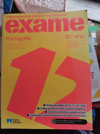 Livro de preparação para o exame de português 2021