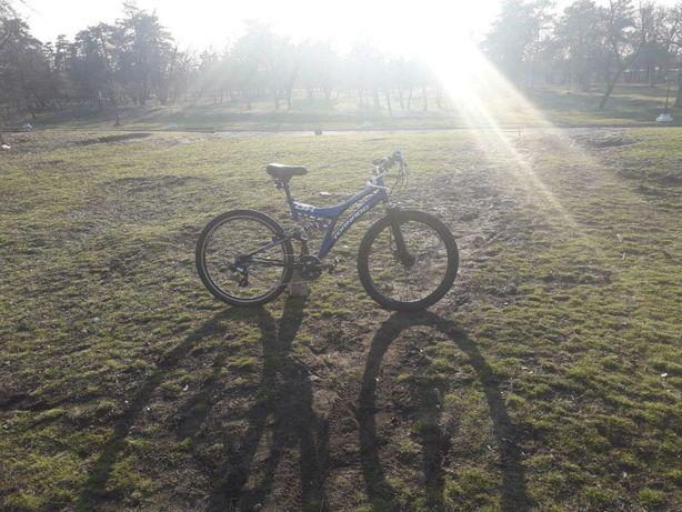 Горный велосипед, двухподвес, tornado dh, downhill, cross country, 26