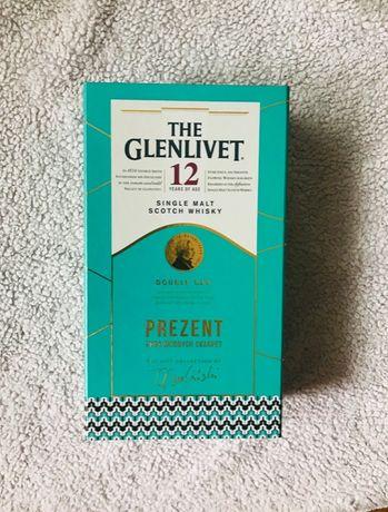 Pudełko The Glenlivet 12 butelka whisky wódka czaszka karafka 0,7l