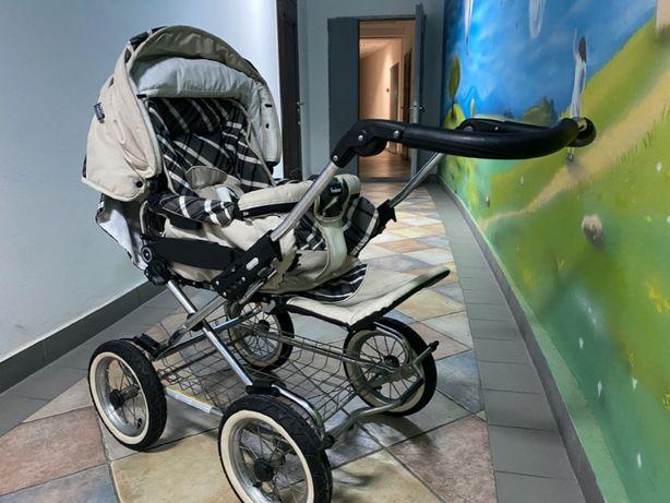 Детская коляска классическая Emmaljunga Edge Duo Combi (Швеция)