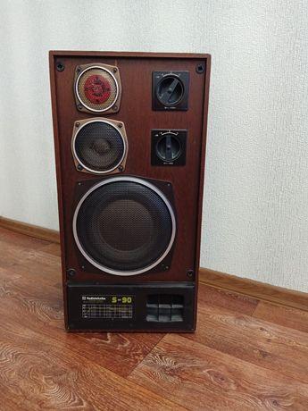 Radiotehnika S-90 и усилитель Маяк 75у-105с