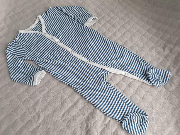 Sinsay, pajac w paski (piżamka), roz. 74-80