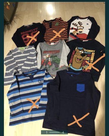 Bluzki dla chłopca z długim rękawem