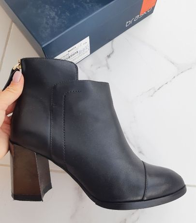 Ботинки от braska на каблуке