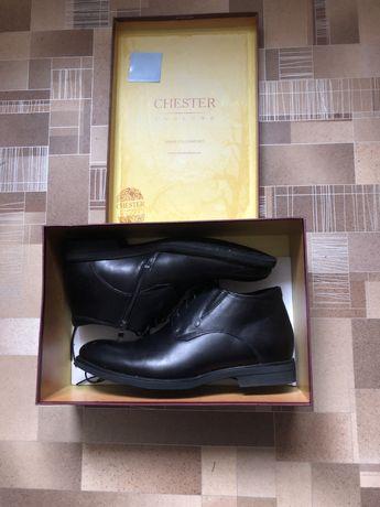 Мужские зимние ботинки chester