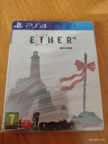 Gra PS4. Ether one pl. Steelbook Ideał.