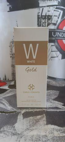 Женские духи White Gold Carlo Corinto Paris.