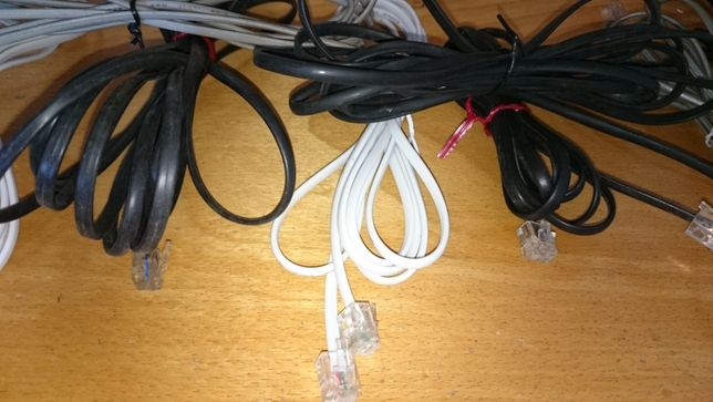 cabos telefone como novos