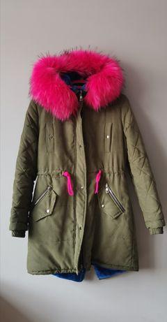 Молодёжная Куртка, Парка с густым мехом