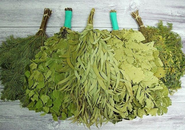 Веники для бани и сауны березовый дубовый эвкалипт можжевельн пихтовый