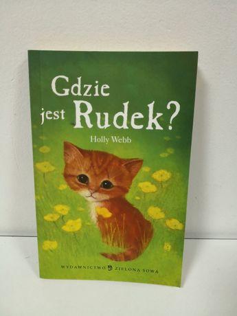 Książka gdzie jest Rudek?