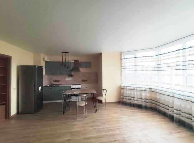 2-кімнатна квартира в новому будинку зі свіжим ремонтом
